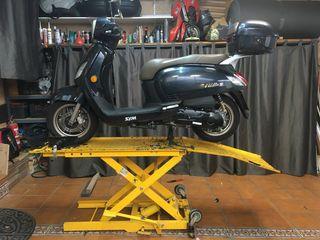 Elevador hidráulico para motos -REBAJADO A €295 -