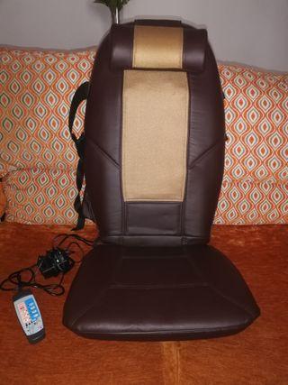 Respaldo masaje Shiatsu Portátil con vibración
