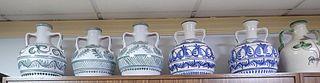Cántaro de cerámica con 55 cm