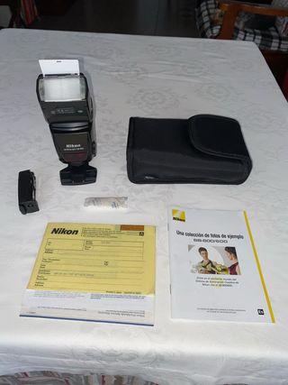 Fhlash Nikon Sb-800 5ª pila