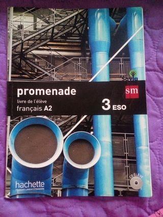 Libro de francés 3°Eso