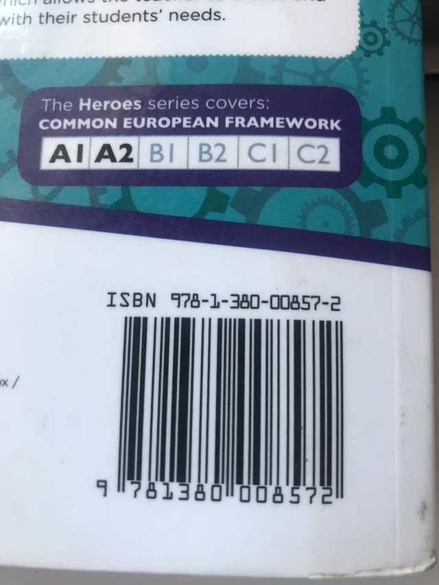 Libro Ingles Heroes 9781380008572