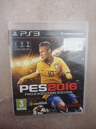 Juego 'Pes 2016' PS3