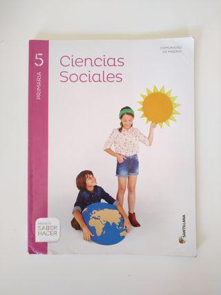 Ciencias Sociales Santillana 5° Primaria