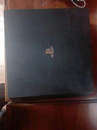 PS4 pro+mando+juego