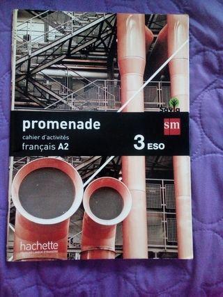 Libro de actividades de francés 3° Eso