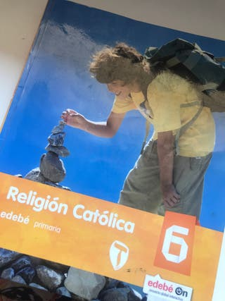 Libro Religion 6 primaria 9788468317120