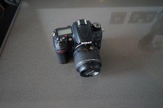 Nikon D7000 with 2 lenses