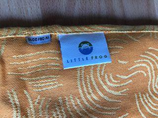 Bandolera foulard porteo little frog