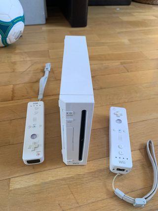 Wii con juegos