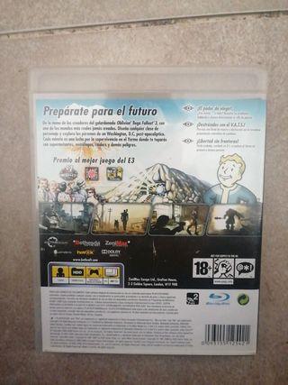 Juego 'Fallout 3' PS3