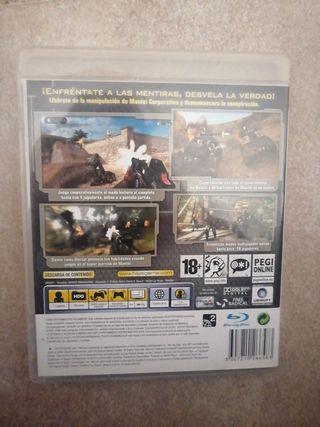Juego 'Haze' PS3