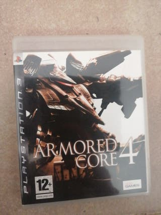 Juego 'Armored core 4' PS3