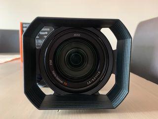 Videocámara Sony 4k FDR- AX100E