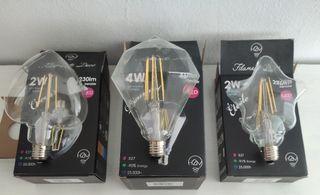 3 bombillas led grandes.