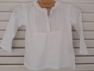 Camisa algodón niña talla 3-6 meses