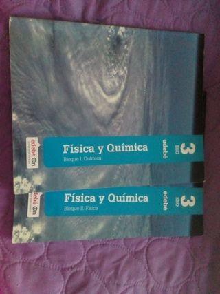 Libros física y química 3° Eso