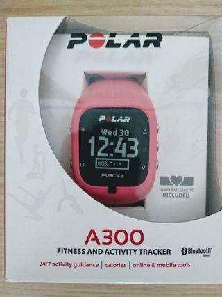 Pulsómetro Polar A300 rosa