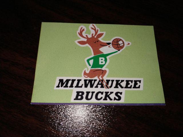 Pegatina NBA Milwaukee Bucks