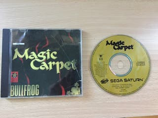 Juego Magic Carpet Sega Saturn