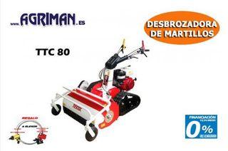 DESBROZADORA DE MARTILLOS ORUGA TEKNA TTC 80