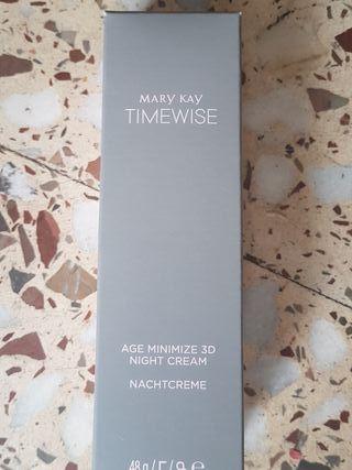 crema de noche timewise piel normal y seca.
