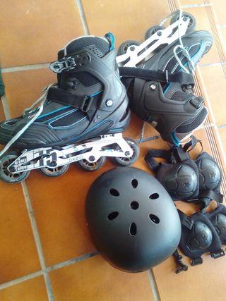 patines en linea, talla 45