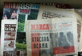 Lote revistas y periódicos deportivos/Años 70