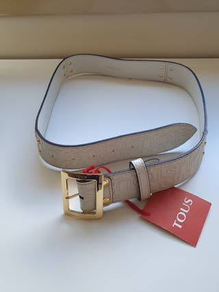 Cinturón Tous blanco