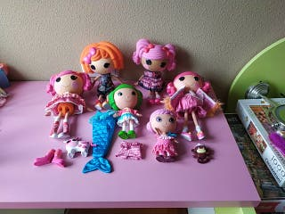lote muñecas Lalaloopsy