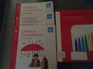 Libro trimestral lenguaje cuarto primaria