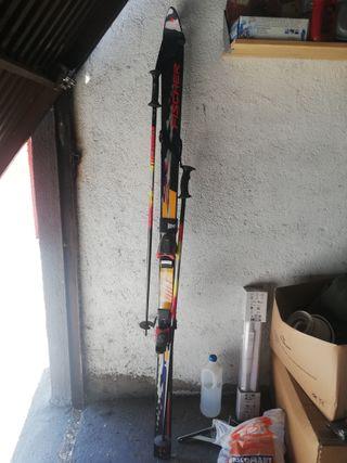 par de esquís