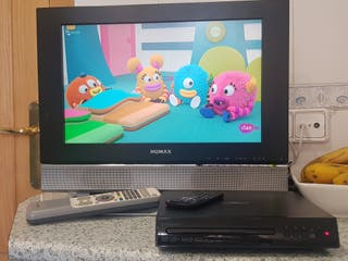 Monitor Humax y DVD