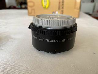 Duplicador Teleconversor Nikon 1.7x