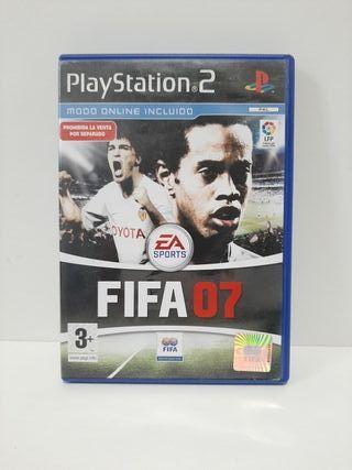FIFA 07. Completo. PlayStation 2.