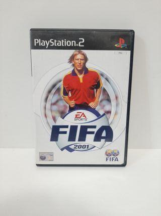FIFA 2001. Completo. PlayStation 2.