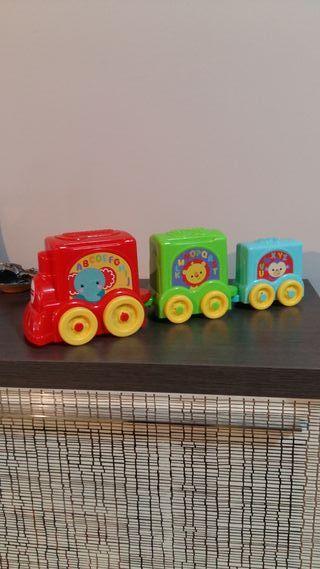 Tren juguete fisher price bebe