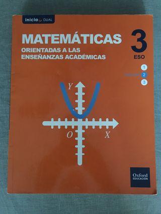 Matemáticas Académicas 3 ESO