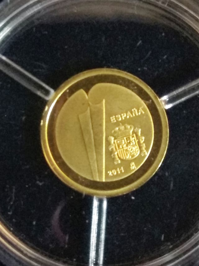 Monedas España-y-Portugal-20-y-0,25-euros-de-oro