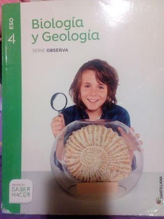 Libro de Biología y Geología 4° Eso