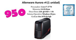 pc gaming allienware Aurora