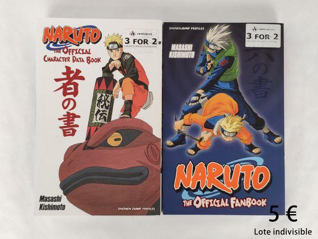 Databooks de Naruto en inglés