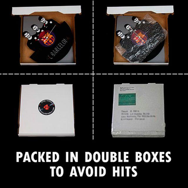 Reloj de Disco LP de Led Zeppelin 2