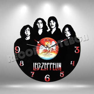 Reloj de Disco LP de Led Zeppelin 2