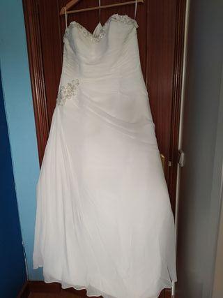 Vestido novia (Pronovias)