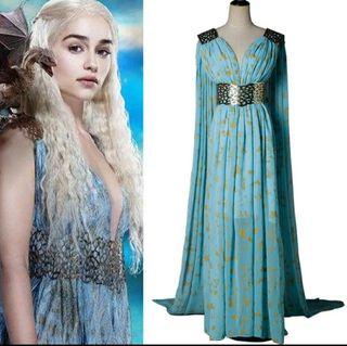 Disfraz Daenerys vestido juegos de tronos