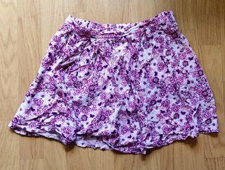 Falda floral de verano