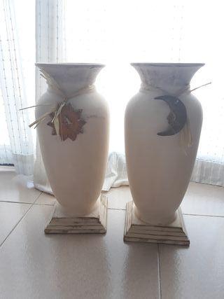 Jarrones decorativos