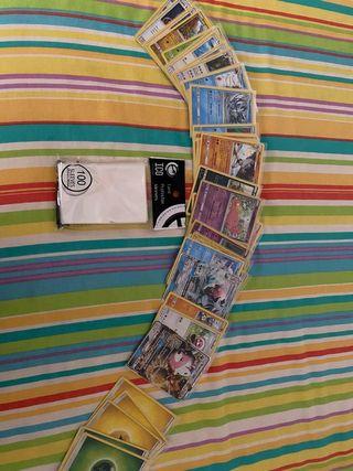 Pack Cartas Pokémon Originales