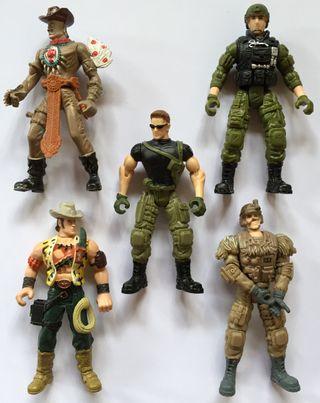 Unidad de soldados de combate